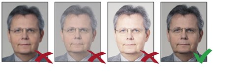 biometric photo contrat